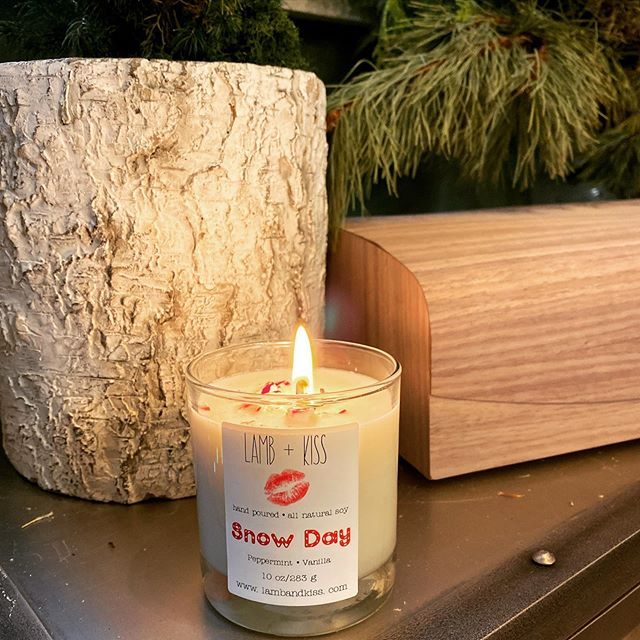 Holiday cheer and peppermint aroma in the Wonderkind workshop today as we captur