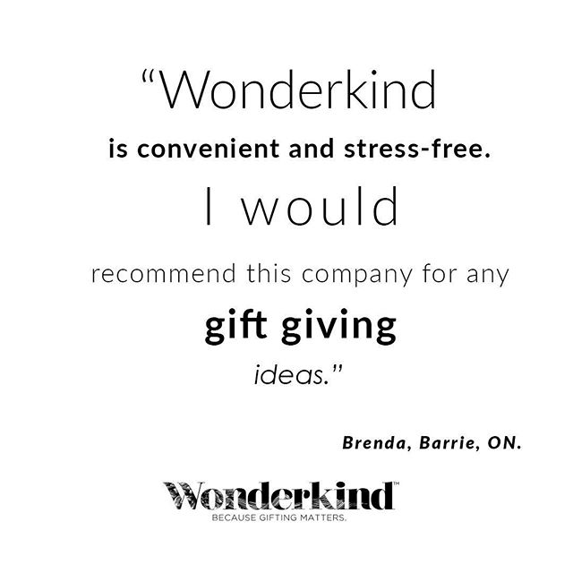 We love gifts and gift giving! Thank you Brenda for this amazing testimonial. .